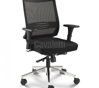 Cavaletti Air - Poltrona Giratória 27001 Syncron RP 3D Alumínio