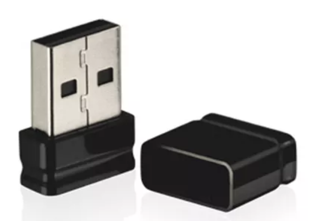 PD054_1 Pendrive Multilaser Nano Preto 16GB