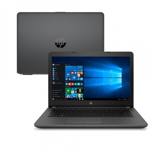 "Notebook HP Core i3-6006U 8GB 500GB Tela 14"" Windows 10"