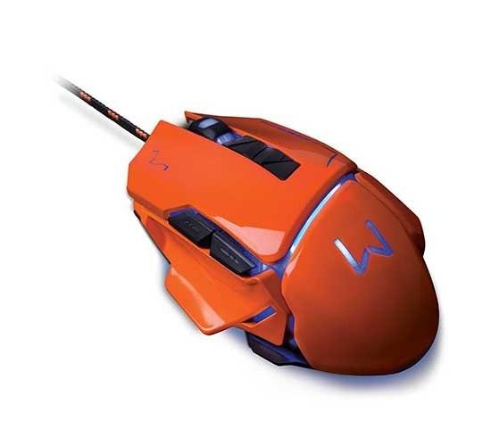 Mouse Gamer 3200 DPI Vermelho Usb Warrior - MO263